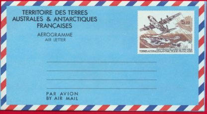 entier-postal-taaf-poste-aerienne-570-inauguration-piste-terre-adelie