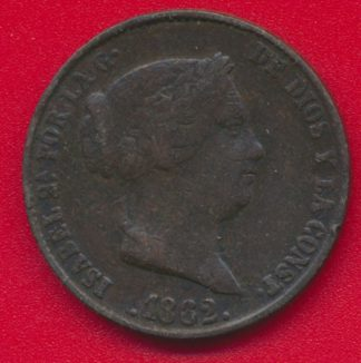 espagne-25-centesimos-real-1862-isabelle-vs