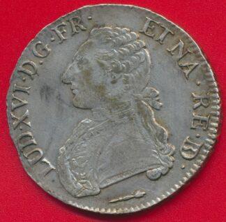 louis-xvi-ecu-1787-pau-bearn