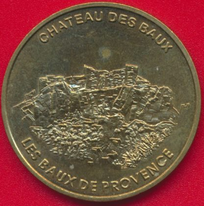 medaille-monnaie-paris--1998-chateaux-baux-provence