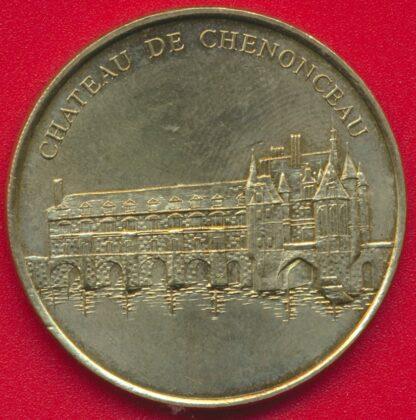 medaille-monnaie-paris-1998-chenonceau-chateau