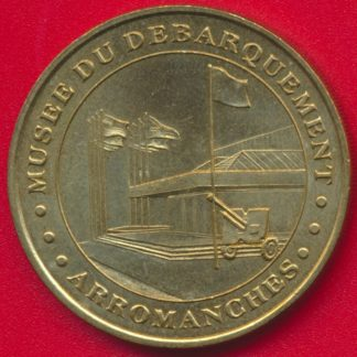 medaille-monnaie-paris-1998-musee-debarquement-arromanches