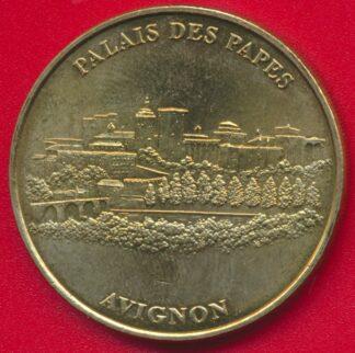 medaille-monnaie-paris-1998-palais-pape-avignon-vaucluse