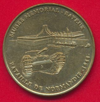 medaille-monnaie-paris-1999-musee-meorial-bataille-normandie-bayeux