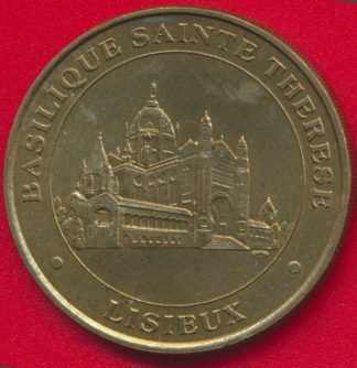 medaille-monnaie-paris-2000-basilique-sainte-therese-lisieux