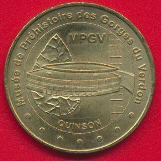 medaille-monnaie-paris-2001-musee-prehistoire-gorges-verdon-quinson