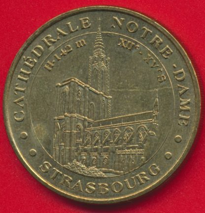 medaille-monnaie-paris-2003-cathedrale-strasbourg