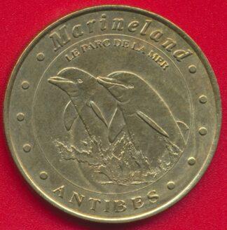 medaille-monnaie-paris-2003-marineland-dauphins