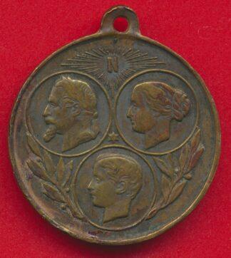 medaille-napoleon-souvenir-exposition-universelle-1867-vs