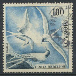 monaco-100-francs-poste-aerienne-sternes
