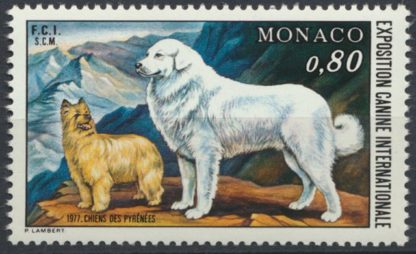 monaco-exposition-canine-internationale-chien-pyrenees-1977