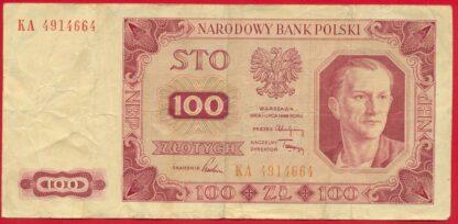 pologne-100-zlotych-1948-84664