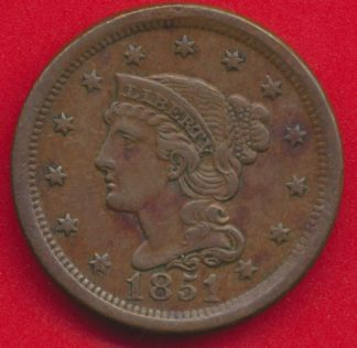 usa-amerique-one-cent-1851
