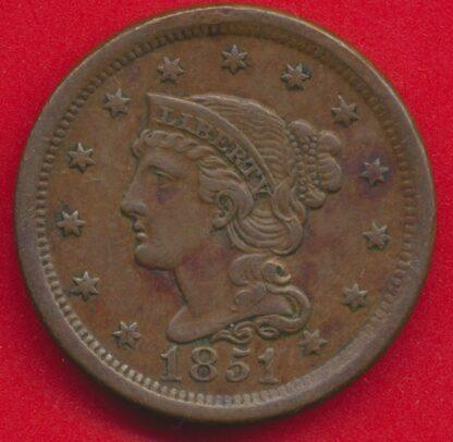 usa-amerique-one-cent-1851