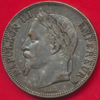 5-francs-napoleon-iii-1868-bb-strasbourg-vs