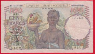 afrique-occidentale-cent-100-francs-2-10-1951-2436-vs