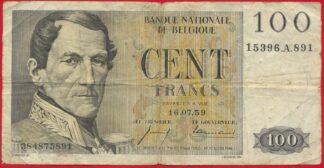belgique-100-francs-16-07-59-891
