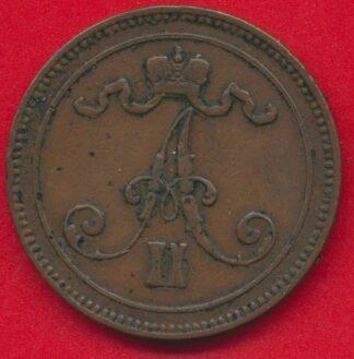 finlande-10-pennia-1865-vs