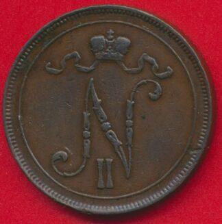 finlande-10-pennia-1905-vs