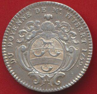 jeton-argent-doyenne-hubert-commissaire-chatelet1759