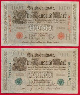 lot-billets-1000-mark-1910-3416-0963-vs
