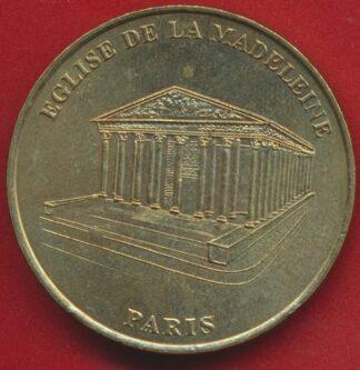 medaille-monnaie-paris-2000-eglise-madeleine-paris