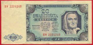 pologne-20-zlotych-1948-4240