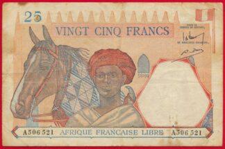 afrique-franciase-libre-25-vingt-cinq-francs