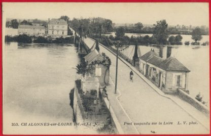 cpa-chalonnes-sur-loire-pont-suspendu