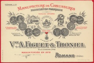 cpa-manufacture-chaussures-romans-drome-figuet-thoiniel