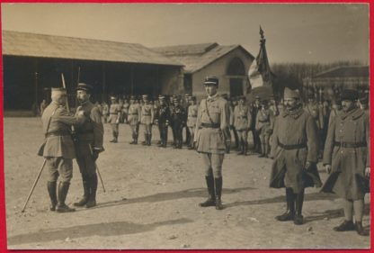 cpa-promotion-grande-revanche-saint-cyr-1919-vs