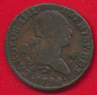 espagne-4-maravedis-charles-iii-1794-vs