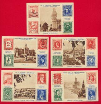 chromo-timbres-etrangers