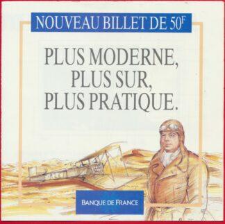fascicule-banque-france-nouveau-billet-50-francs-saint-exupery