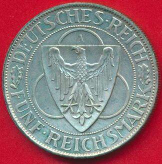 allemagne-republique-weimar-5-funf-mark-1930