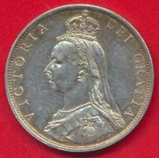 grande-bretagne-2-shillings-1891-victoria