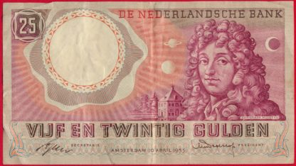 pays-bas-25-gulden-10-4-1955-4547-vs