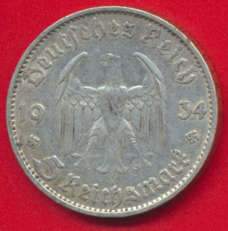 allemagne-5-mark-1934-d