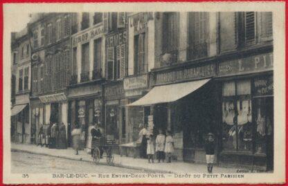 cpa-bar-le-duc-entre-deux-ponts-depot-petit-parisien