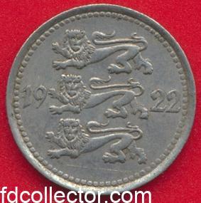 estonie-5-marka-1922