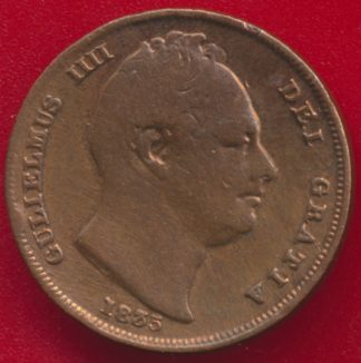 grande-bretagne-farthing-1835-william-gulielmus