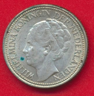 pays-bas-25-cent-wilhelma-1940-vs