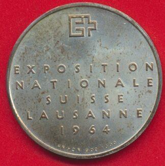 suisse-5-francs-1964-exposition-lausanne