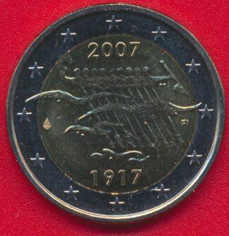 2-euro-finlande-90-anniversaire-independance-2007