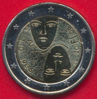 2-euro-finlande-centenaire-suffrage-universel-2006