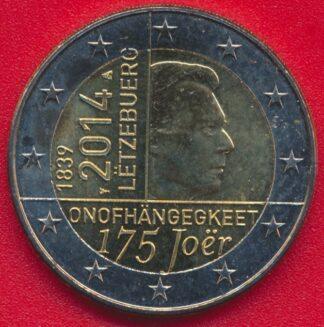 2-euro-luxembourg-150-anniversaire-independance-grand-duche