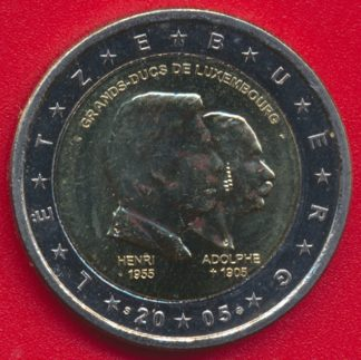 2-euro-luxembourg-2005-grands-duc-henri-adolphe