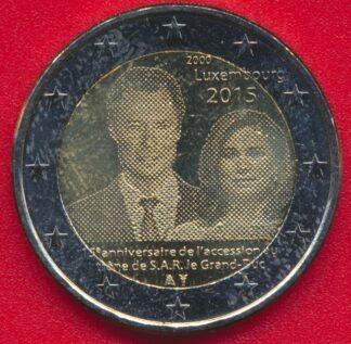 2-euro-luxembourg-2015-15-eme-anniversaire-accession-trone-grand-duc