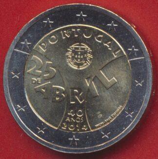 2-euro-portugal-2014-40-anniversaire-revolution-25-avril-abril