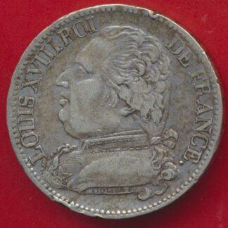 5-francs-louis-xviii-1815-b-rouen